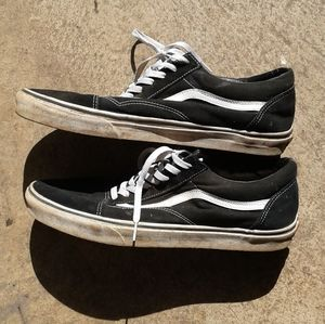 Worn Vans old skool men's size 15D